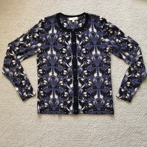 Tory Burch Printed Cardigan size Medium